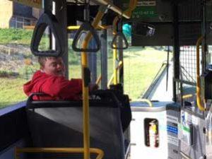 Blog: Joe working towards his transport goals!