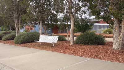 Project: Gardens upgrade at Peel TAFE
