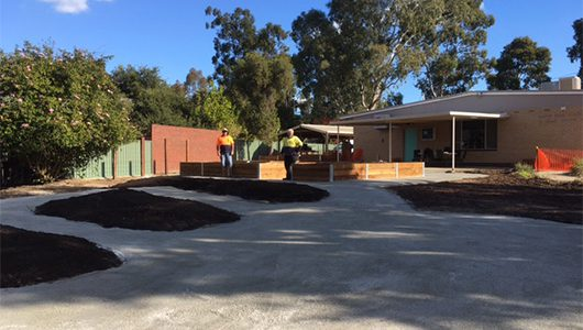 Our new community garden project is here!