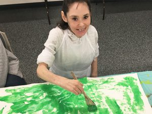 Spotlight on our passionate Art workshop artists!