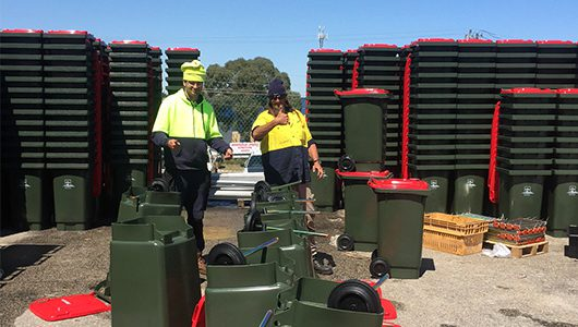 Property leads the way with new recycling project!