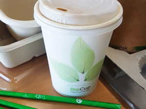 Catering goes green with bio-packaging