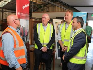 Sustainability in the spotlight as Minister visits Balcatta Recycling Shop