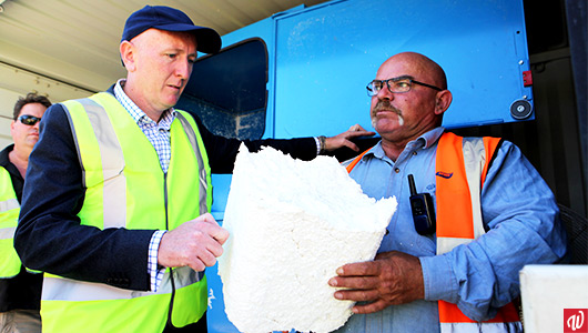 Balcatta Recycling Shop tackles polystyrene issue