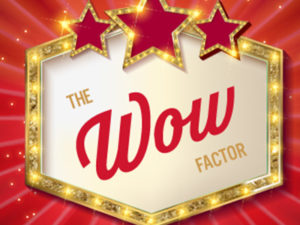 Introducing…the Wow Factor!
