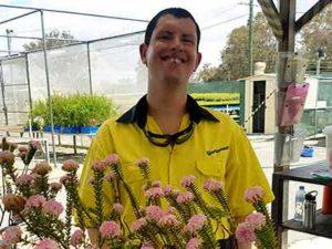 Aaron's gardening expertise blooms