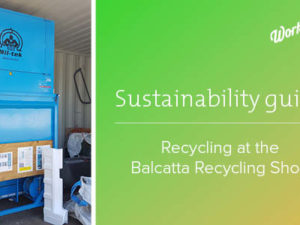 Sustainability guide: how to recycle with us