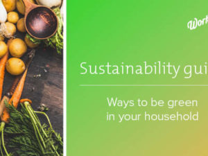 Being sustainable at home