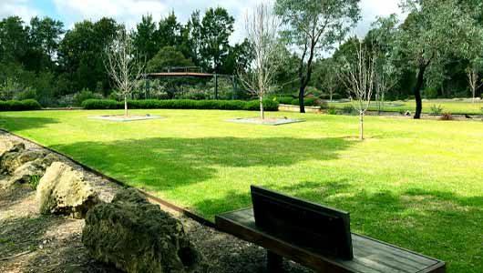Creating peaceful landscapes at Rockingham Memorial Park
