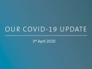 Our COVID-19 update