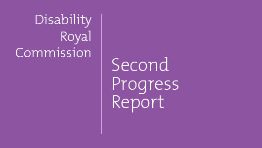 Key points from the Royal Commission Progress Report