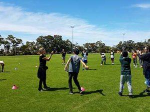 Cricket fun with the Bateman Junior Cricket Club