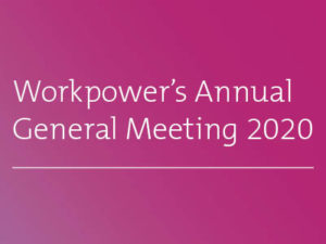 Celebrating Workpower at the 2020 AGM